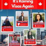 It's Raining Visas Again!